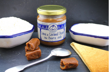 Crême de caramel Breton au beurre salé