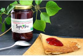 Confiture à la fraise de Plougastel BIO Lapic Sivi