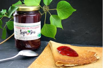 Confiture à la fraise bio Lapic Sivi